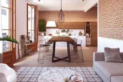 Потрясающая квартира в самом сердце Барселоны